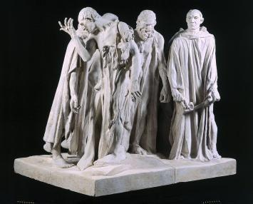 Bourgeois de Calais by Rodin