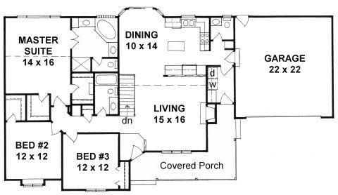 Large One Story Luxury House Plans One Story House Floor Plans ...