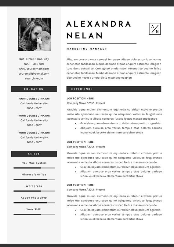 307 curated cv ideas by adelinechapu