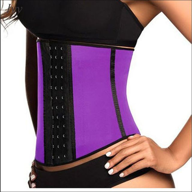 Latex Waist Trainer Corset Plus Size Steel Bone Workout Waist Cincher Slim Body Shaper Girdles Corsets - Latex Waist Cincher, 5XL Like and share if you think it`s fantastic! Visit our store