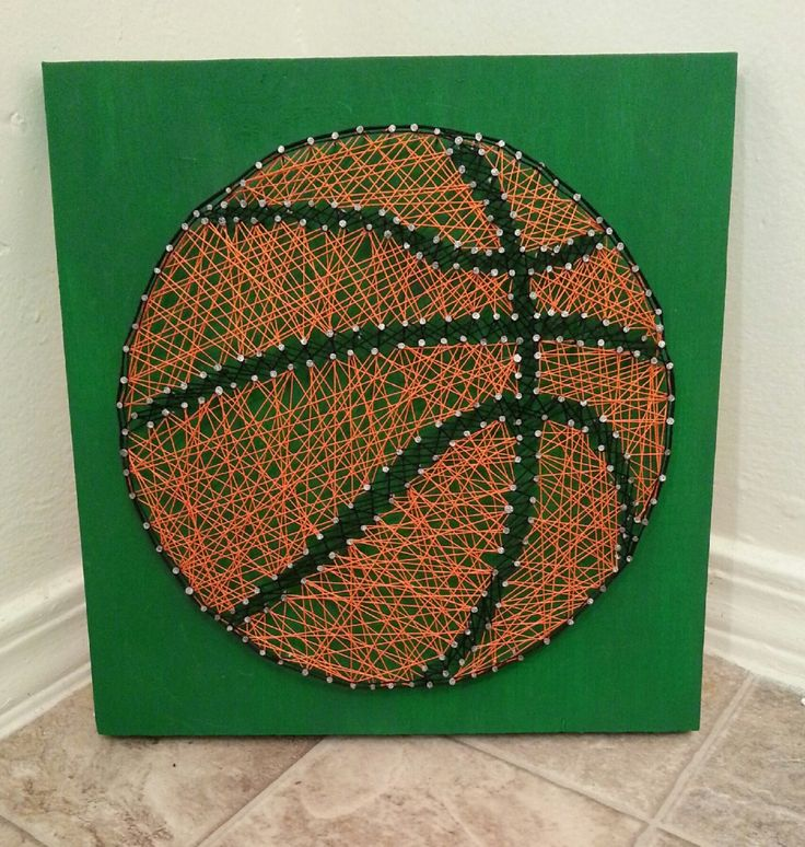 Made to Order String Art Sign, Basketball Sign, String Art, Custom Basketball String Art, Home Decor, Basketball Wall Decor, Athlete Decor by BlossomingBurlap on Etsy https://www.etsy.com/listing/214503013/made-to-order-string-art-sign-basketball