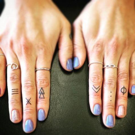 De fofa a minimalista: ideias de tatuagem para o dedo