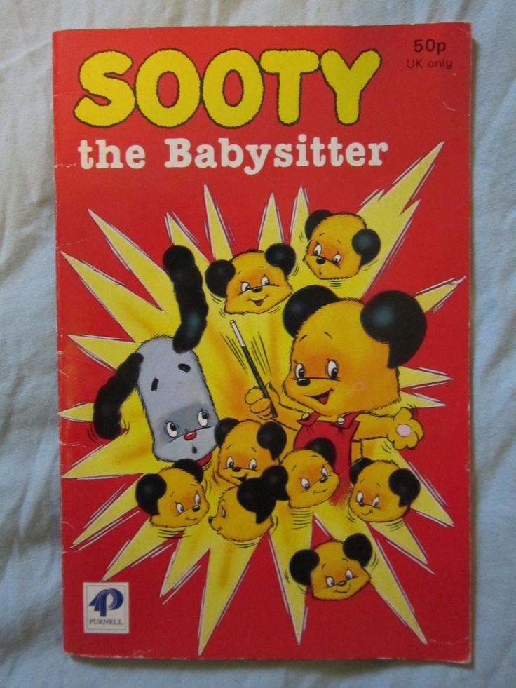 Sooty the babysitter book