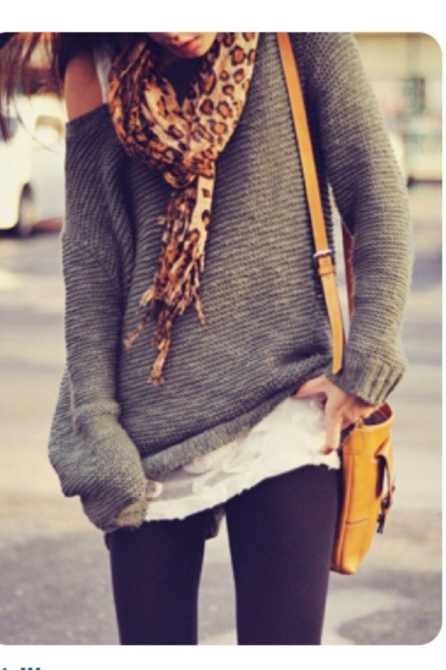 25 best Petite How To: Wear Oversized Sweater images on Pinterest ...