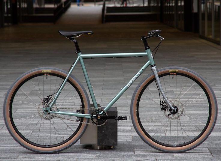 "BLUE LUG bike shop??? on Instagram: ""?SURLY STRAGGLER? . . ヨヨコーのまっちゃんがストレス発散で組んだ ..."