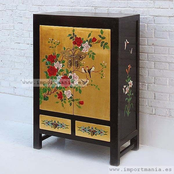 17 best images about muebles de estilo oriental on for Muebles lacados chinos