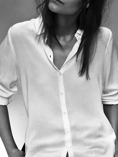 Filippa K plain white shirt - old time favorite !