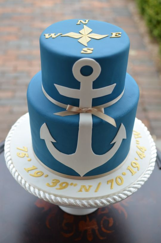 25 Best Ideas About Sailor Cake On Pinterest
