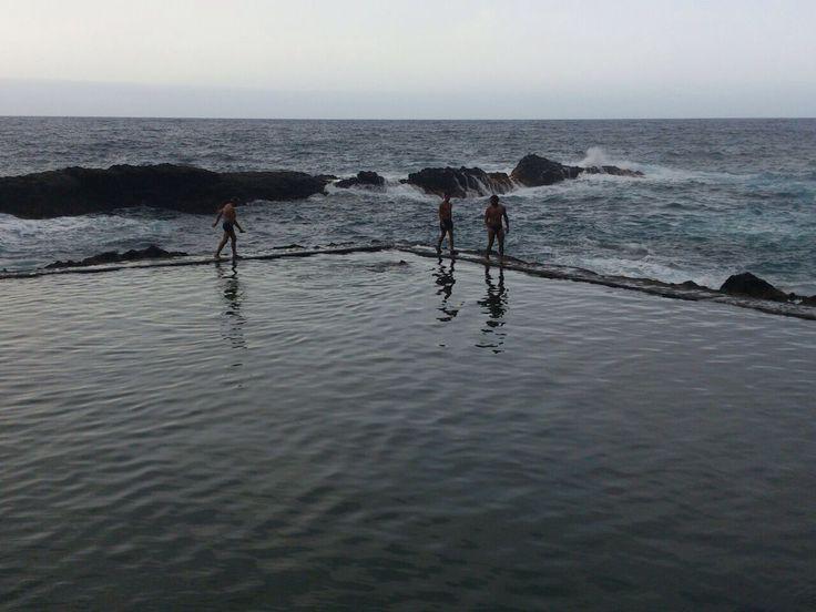 Mejores 14 im genes de piscinas naturales de canarias en for Charcos naturales en tenerife