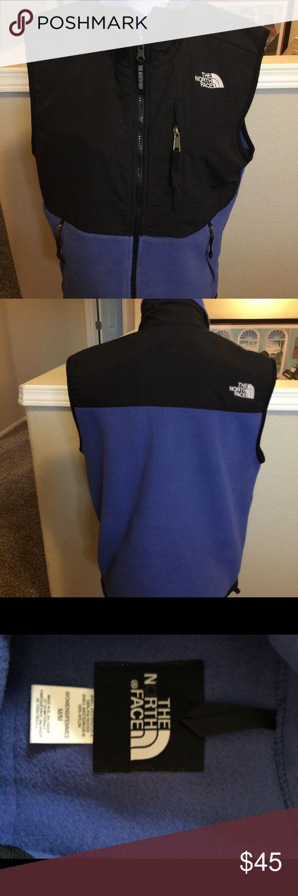 North Face Denali vest jacket M Blue/black Denali vest north Face  Size M Jackets & Coats Vests