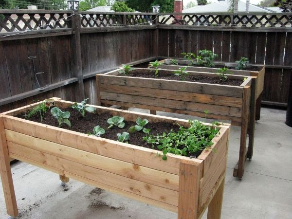 how to build a raised garden planter - Google Search