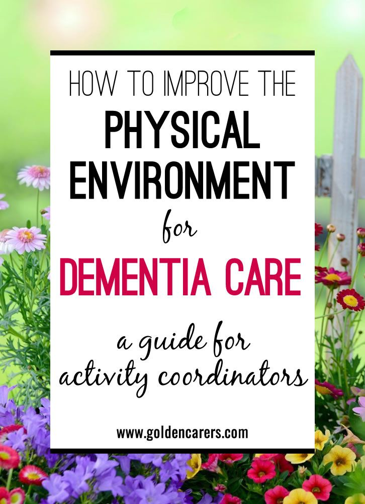 The surrounding environment has a profound impact on people living with dementia. Along with clever architecture and design, there are many other ways in which
