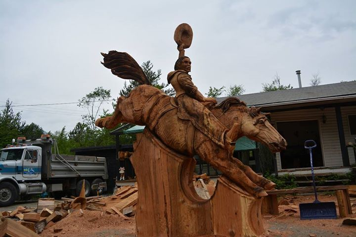 The Bucking Bronco by Saw Valley Ryan Cook and Chris Foltz