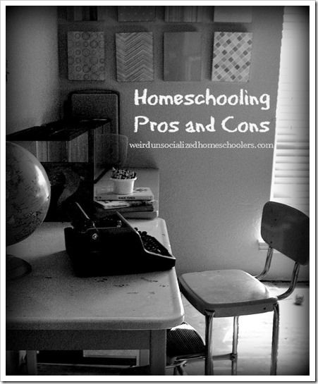 Homeschooling Pros and Cons: I personally feel that children should be able to socialize with other children there age. It's where they learn sharing, friendship, and problem solving skills.