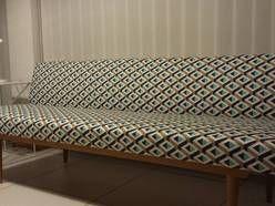 sofa, vintage, retro, PRL, lata 60, bauhaus, loft