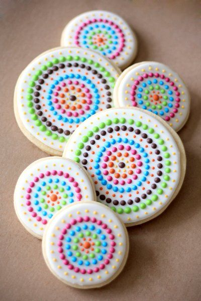 From Bee's Knees Creative. | Girly Cookies | Pinterest