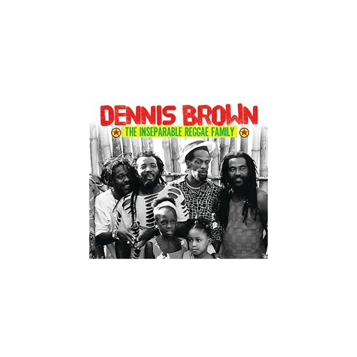 Dennis Brown the Inseparable Reggae Family & Var - Dennis Brown the Inseparable Reggae Family / Var (CD)