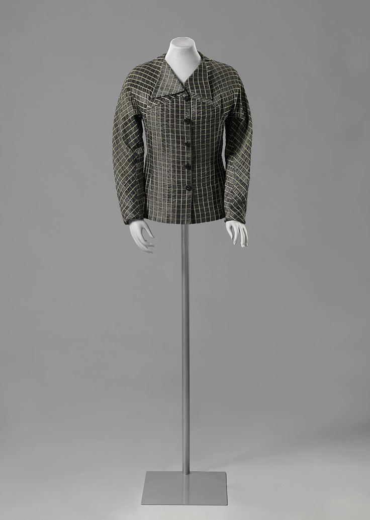 1935, Belgium - Jacket by Denise Vandervelde-Borgeaud - Silk, synthetics