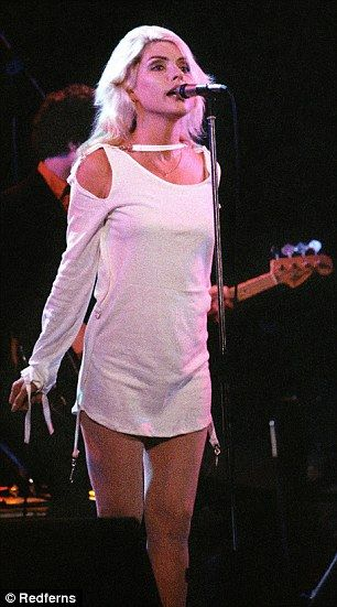 On stage with Blondie on the Parralel Lines tour at De Doelen, Rotterdam, 1978