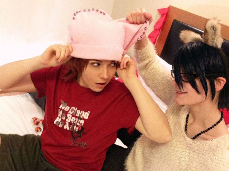 Fushimi Saruhiko x Yata Misaki - SaruMi cosplay by the-crimson-world.deviantart.com on @DeviantArt