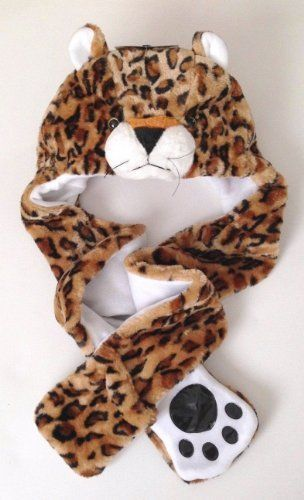 Adult Faux Fur Animal Trapper Snood Hood Hat Scarf Mitten set One Size Sock Snob, £6.99