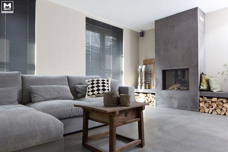 + #living #fireplace #wood