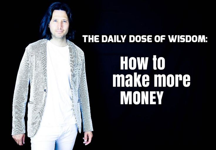 How to make more #money  : https://youtu.be/C4mEGrQX06M