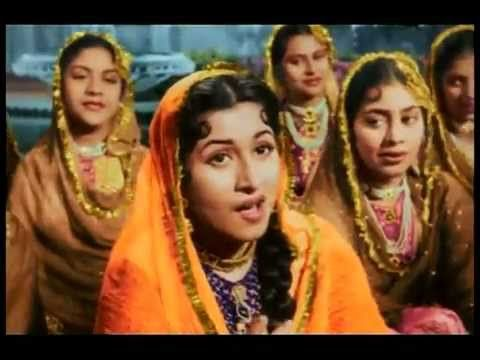 Mughal - E - Azam - Teri Mehfil Mein Qismat - Lata Mangeshkar  and Shamshad Begum