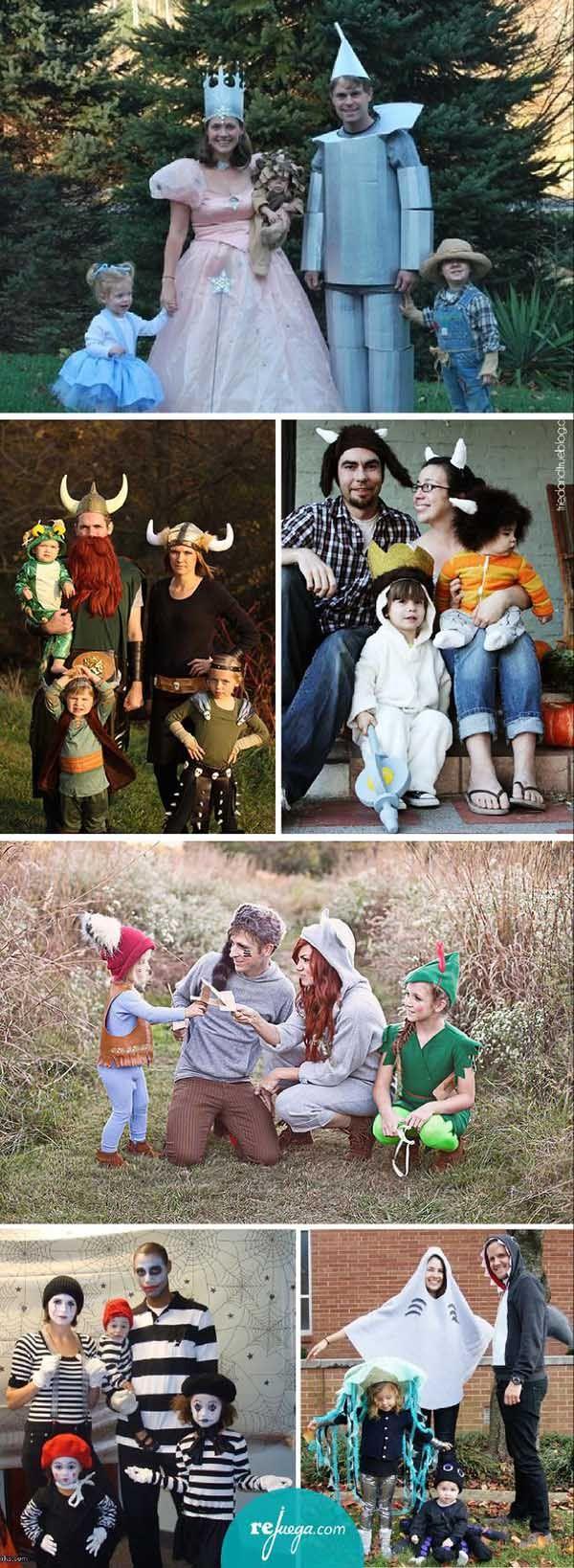 Disfraces para toda la familia - Eskueking