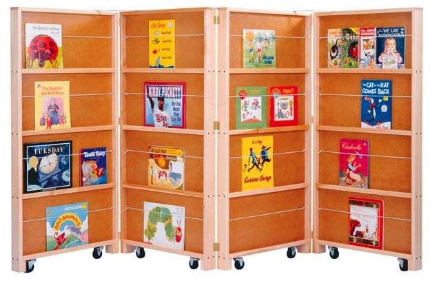 children book shelf room divider | If you have children, you might like this divider from Jonti-Craft ...