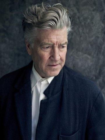 David Lynch and his hair.