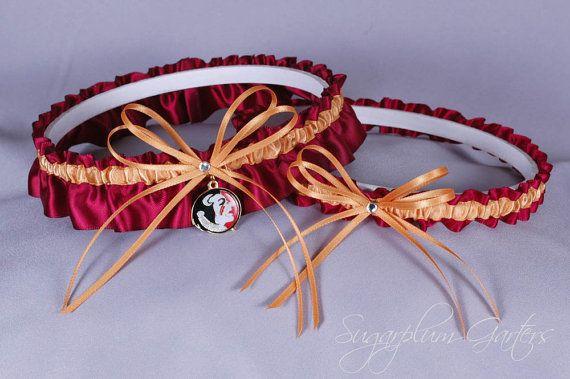 Custom Florida State University Seminoles by sugarplumgarters, $44.99