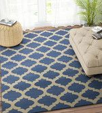 Buy Imperial Knots Blue Wool 60 x 96 Inch Carpet  Online: Shop from wide range of Carpets Online in India at best prices. ✔Free Shipping✔Easy EMI✔Easy Returns