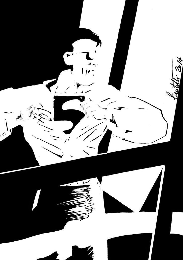 millevignette di ignazio piscitelli: Clark - The Dark Knight