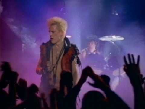 "BILLY IDOL / REBEL YELL (1983) -- Check out the ""I ♥♥♥ the 80s!! (part 2)"" YouTube Playlist --> http://www.youtube.com/playlist?list=PL4BAE4D6DE43F0951 #80s #1980s"