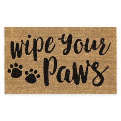 Mohawk Home Wipe Your Paws Coir Door Mat - BedBathandBeyond.com
