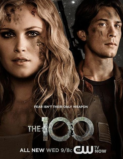the 100 tv show | The 100 (TV Show) Bellarke promo poster