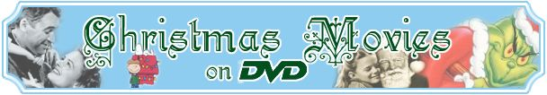 Complete list of Christmas movies on DVD w/ a link to Amazon!