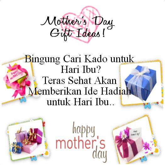 Bingung Cari Kado untuk Hari Ibu? Teras Sehat Akan Memberikan Ide Hadiah untuk Hari Ibu.. #terassehat #hariibu #selamathariibu #memehariibu #mothersday #22desember