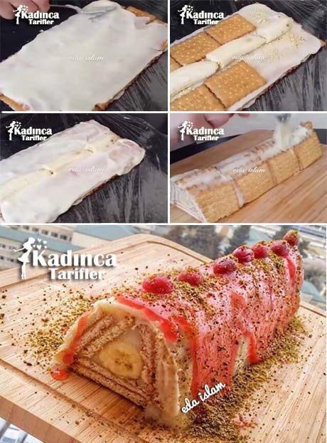 Muzlu Piramit Pasta Tarifi