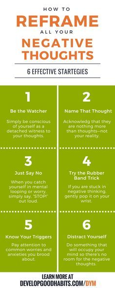 6 effective strategies for reframing your negative thoughts. Using positive thinking to overcome negative thinking and increase happiness and mental well being. | An excerpt from SJ Scott and BArrie Davenport's book, DECLUTTER YOUR MIND. Dealing with mental well being.