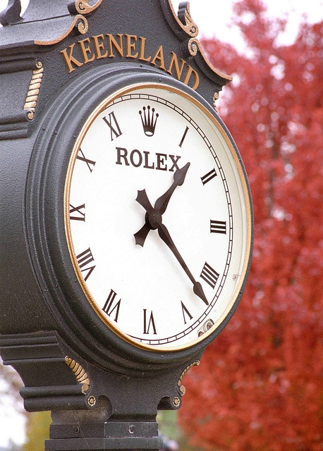 "Lexington Kentucky - Keeneland Race Track ""Rolex Clock"" by David Paul Ohmer, via Flickr #clocks #racetracks #travel"