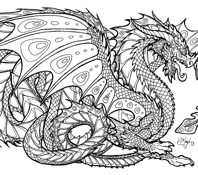 free coloring pages dragons dragon coloring pages for adults to download and print for free draw