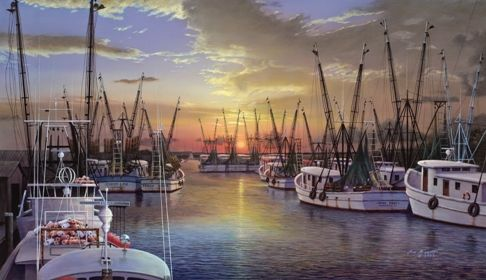 303 Best Shrimp Boats Images On Pinterest Sailing Ships