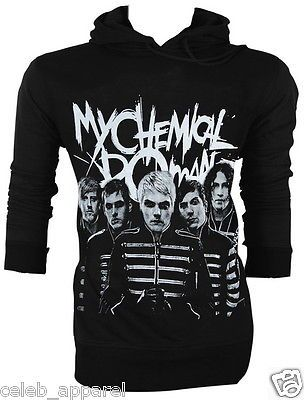 My Chemical Romance MCR Ray Toro The Black Parade Adult Retro VTG Jumper Hoodie