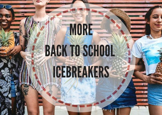 More back to school icebreakers - Lesson Plans Digger