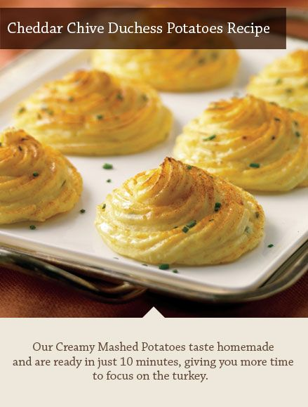 Duchess potatoes, Potato recipes and Creamy mashed potatoes on ...