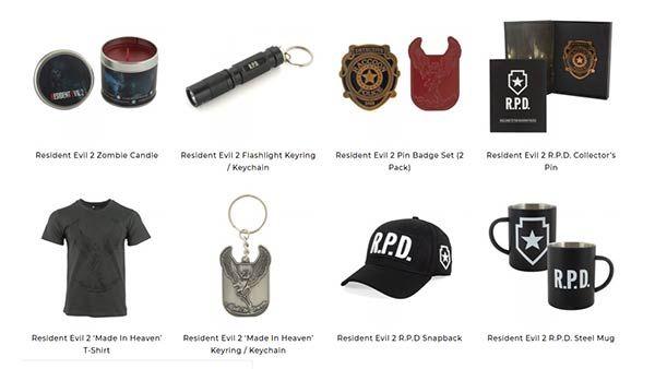 Capcom Numskull Designs Reveal The Official Resident Evil 2 Merchandise Range Resident Evil Capcom Evil
