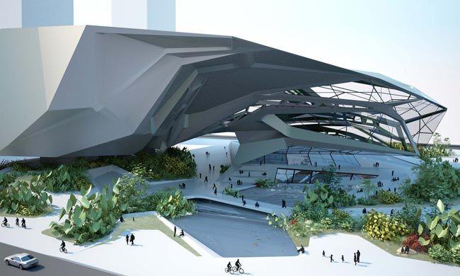 SHENZHEN MUSEUM OF CONTEMPORARY ART Shenzhen, 2007 Tom Wiscombe.