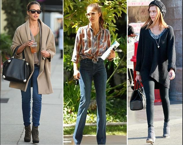 A whole blog post on Jessica Alba style!